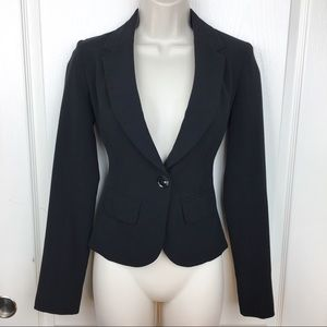 Candie's Black Career Blazer